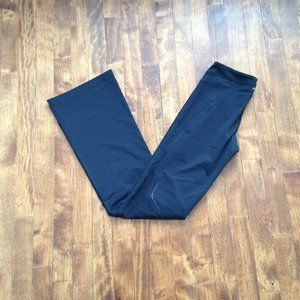 Adidas - Black Flared Workout Pants